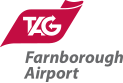 TAG Farnborough Airport logo