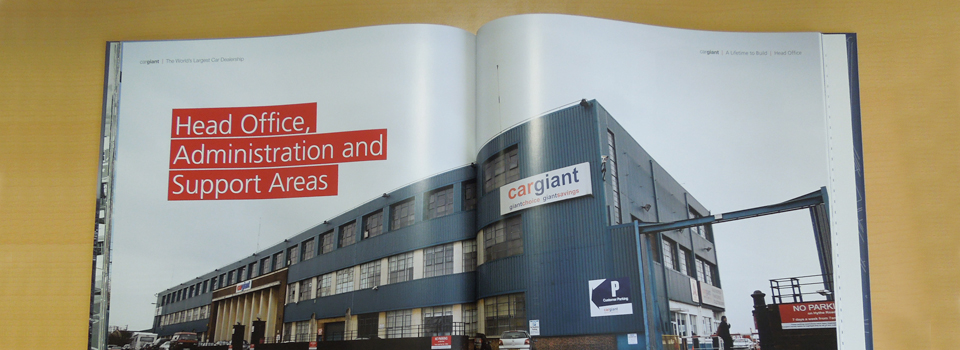 Designing A Coffee Table Book For Cargiant Design Inc