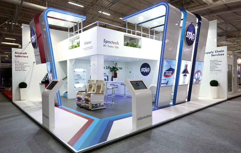 Exhibition Stand Builders Paris : Building branded environments design inc