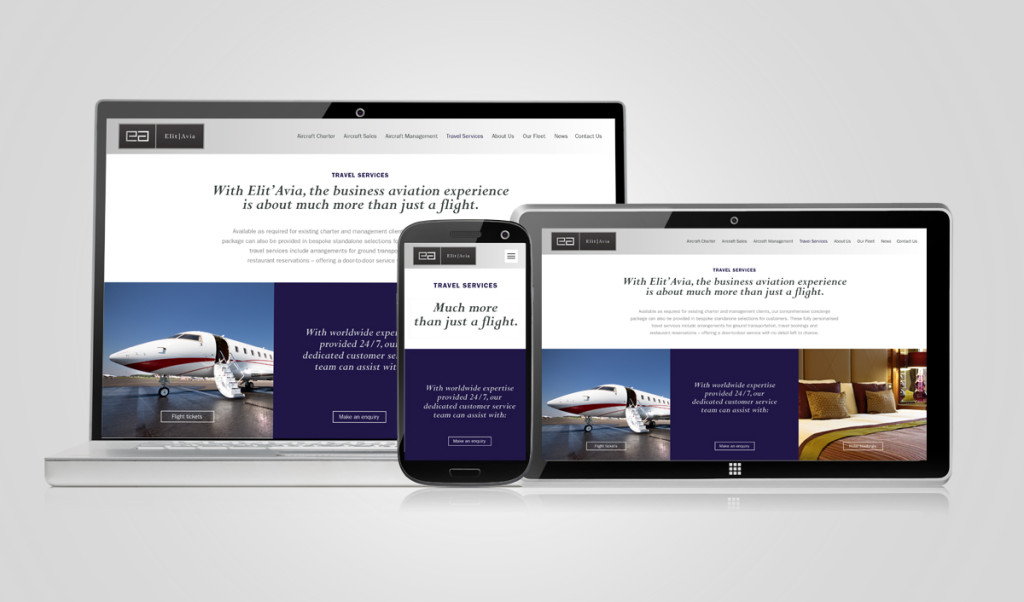 Private Jet Charter Website Specialists  Design Inc