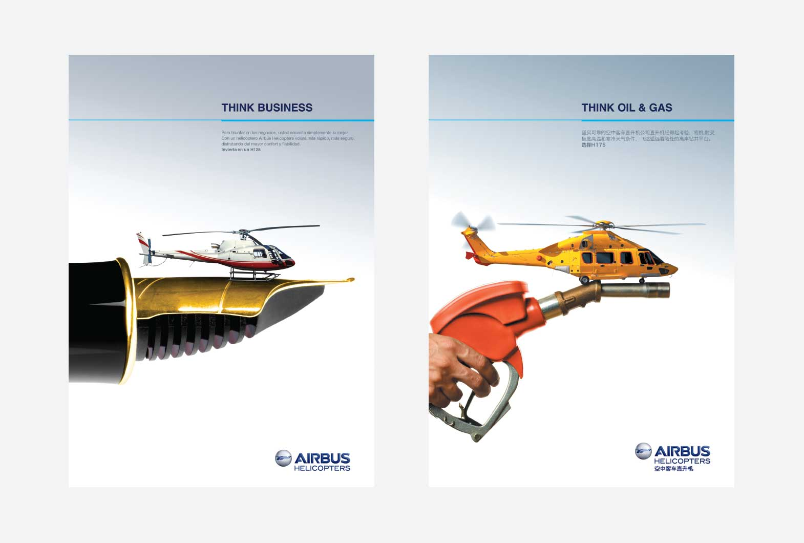 Airbus Helicopters advertising