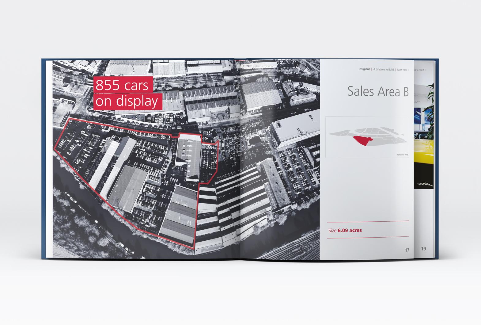 Cargiant automotive book design