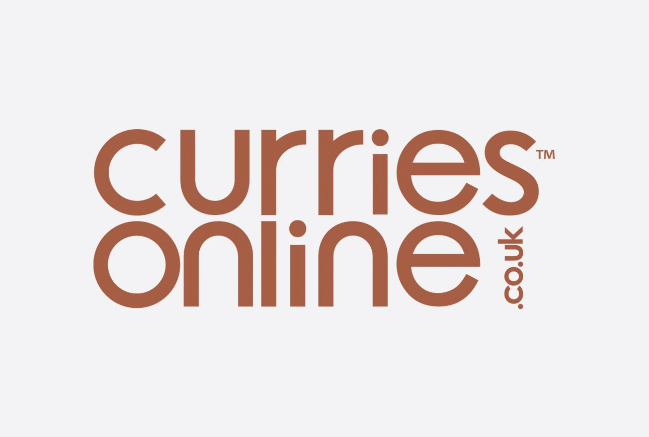 Curries Online branding