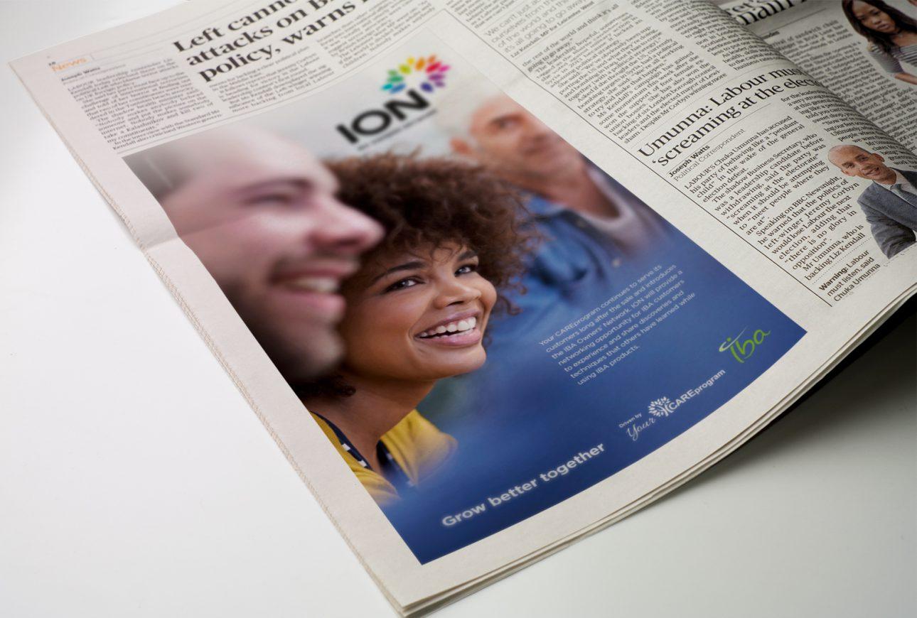 ION print design