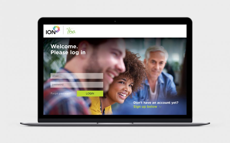 ION healthcare website design