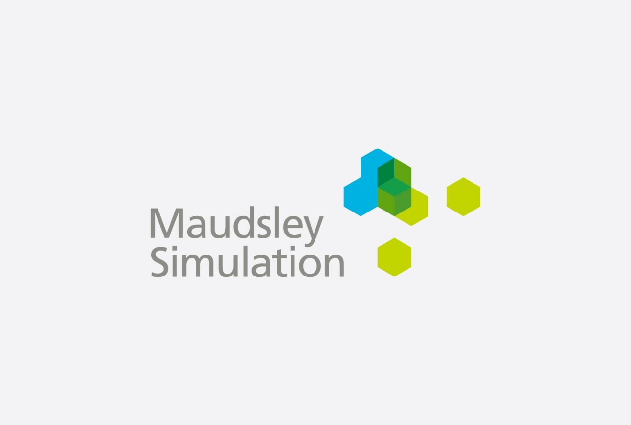 NHS Maudsley Simulation branding