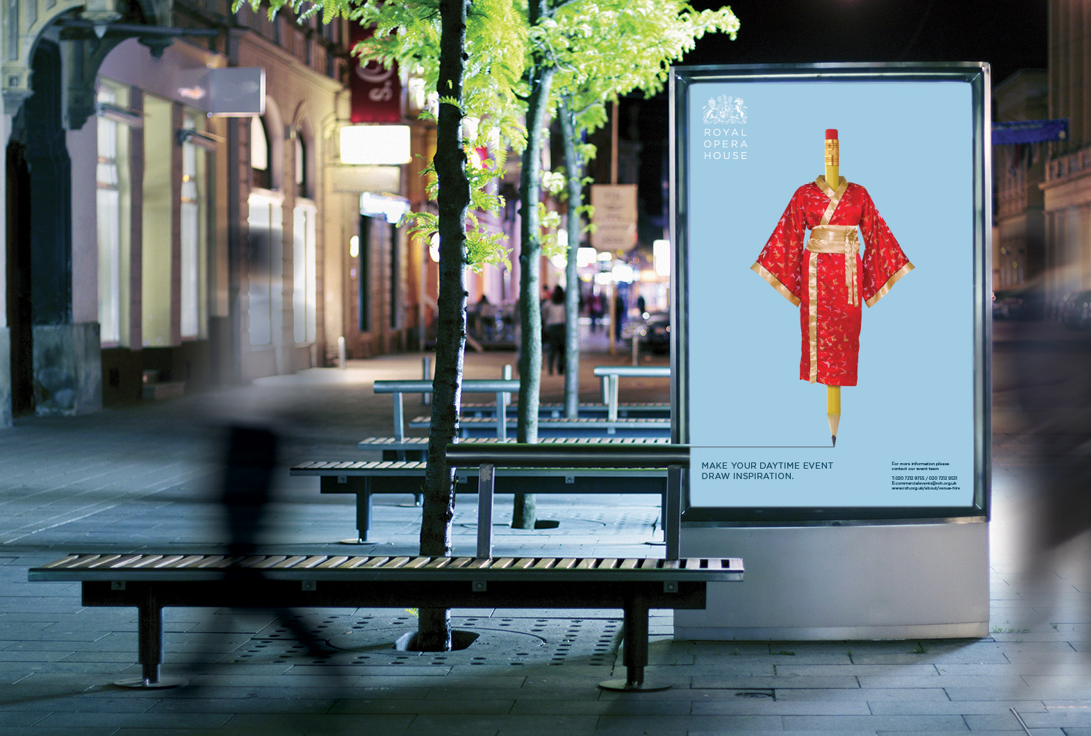 Out of Home advertising - one of the creative agency services provided by Design Inc