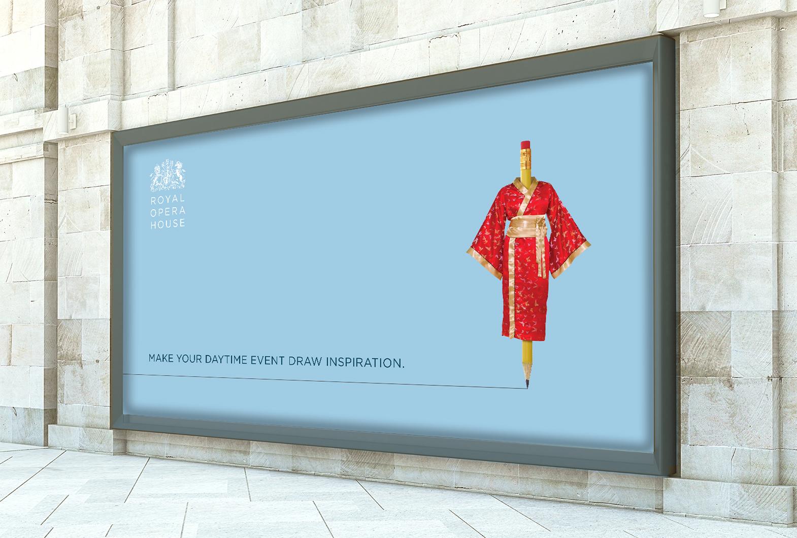 Royal Opera House OOH advertising