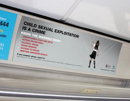 Surrey Police public information advertising