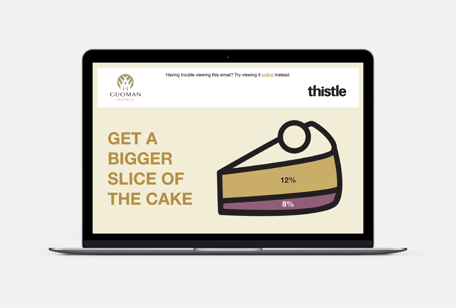 Thistle Guoman hotel email marketing
