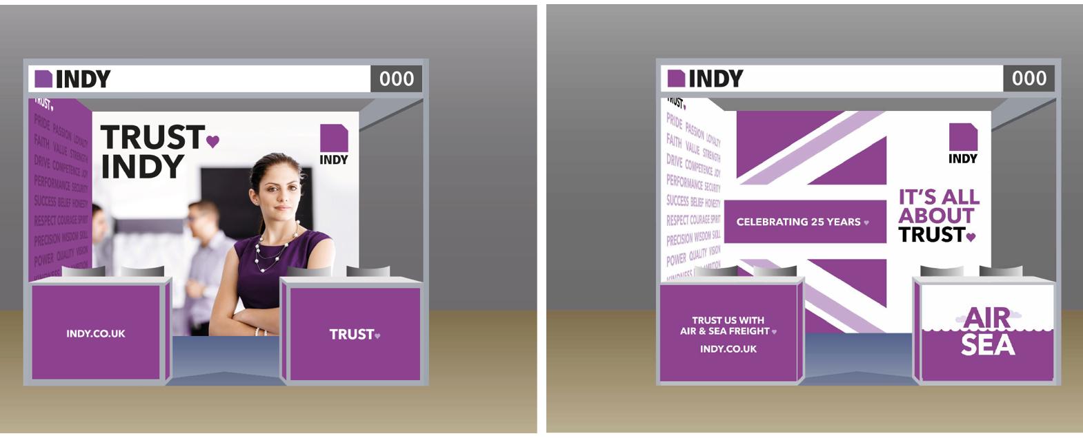 Exhibition Booth Graphics : Exhibition booth graphics