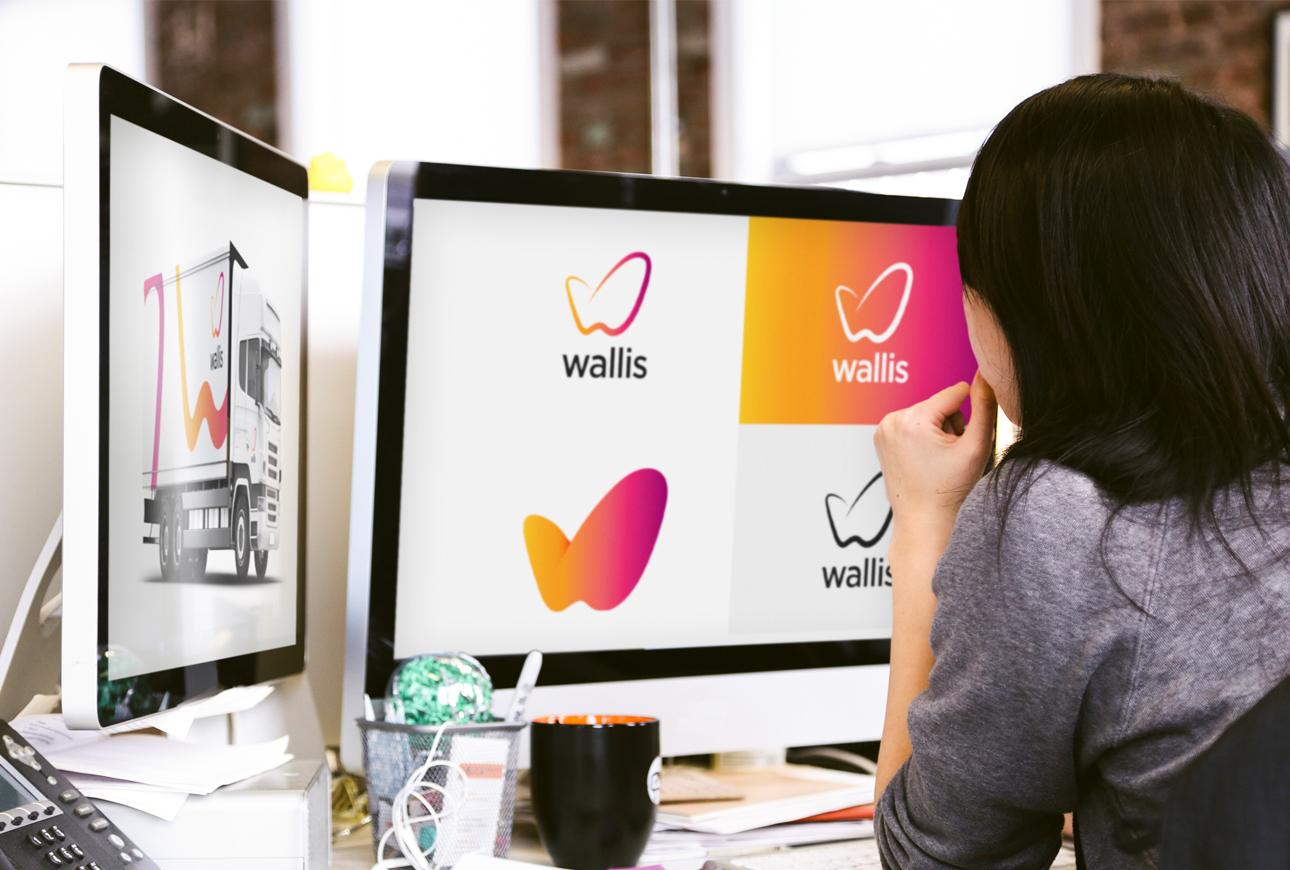 Brand identity by branding agency, Design Inc