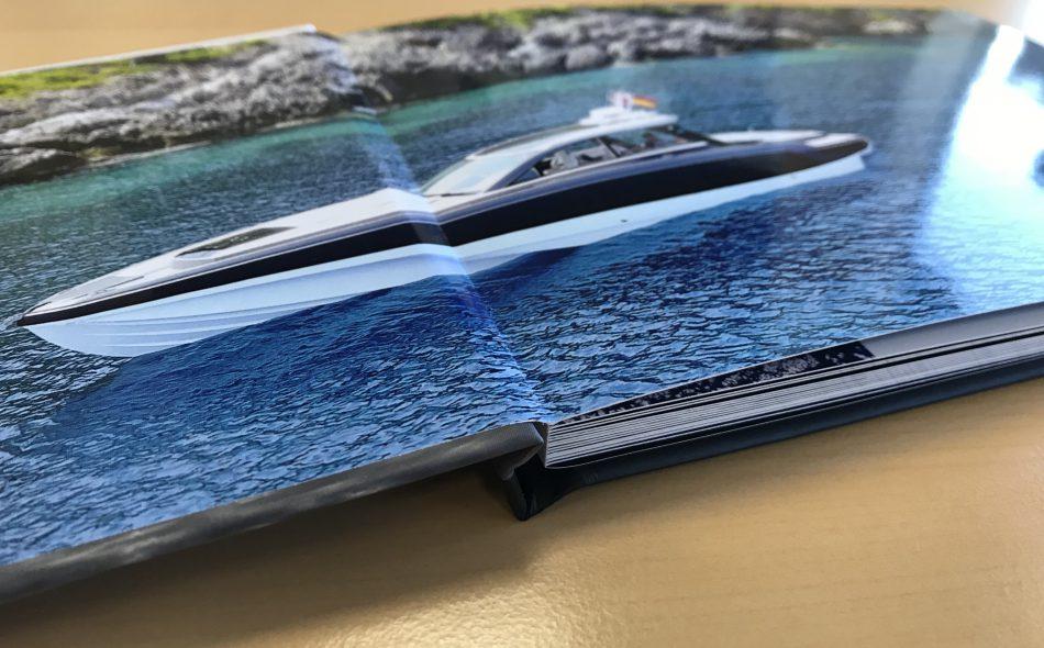Ice Marine brochure design
