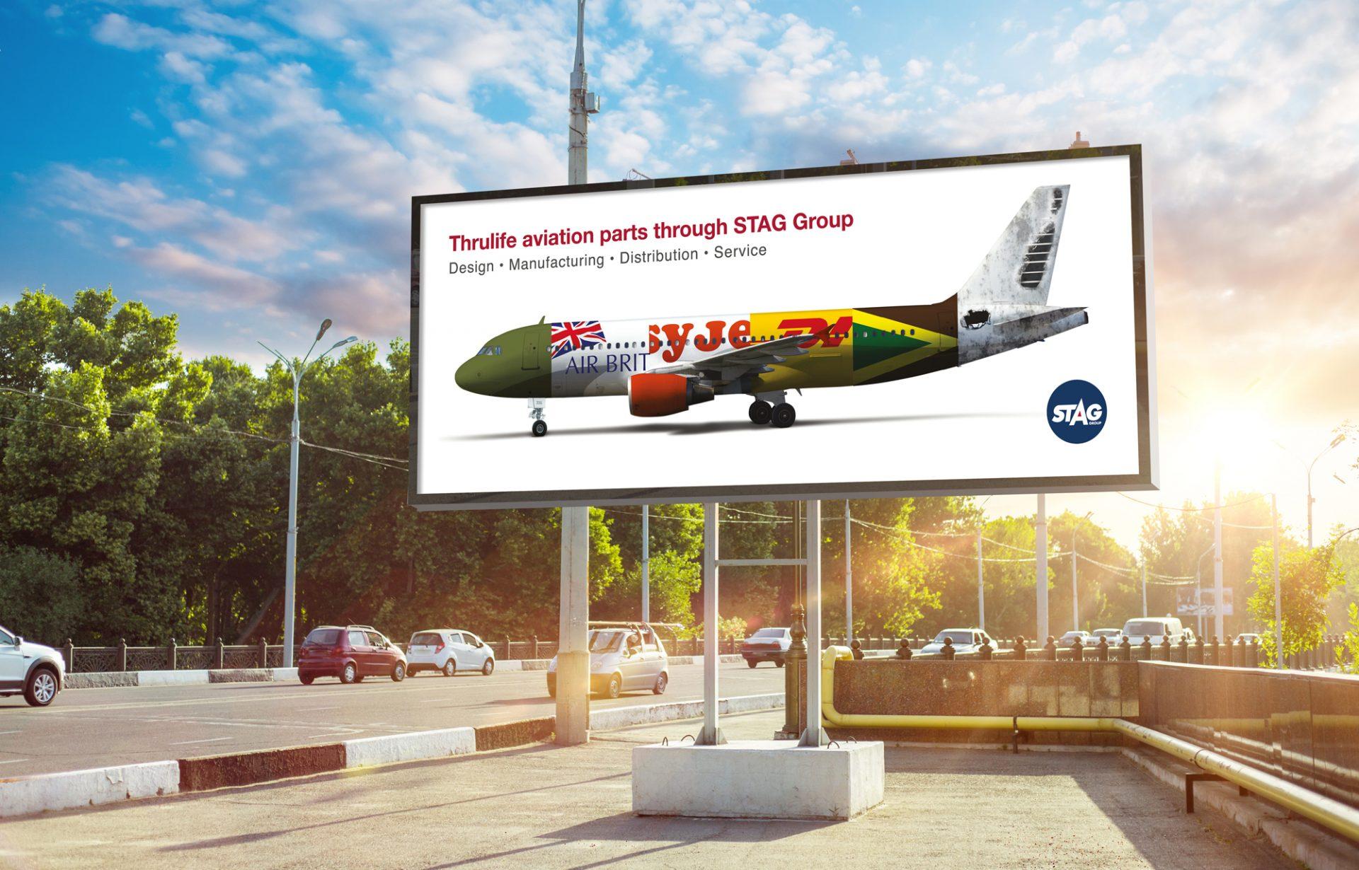Aerospace advertising campaign