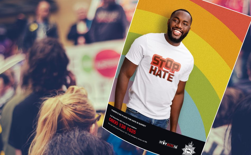 hate crime poster artwork