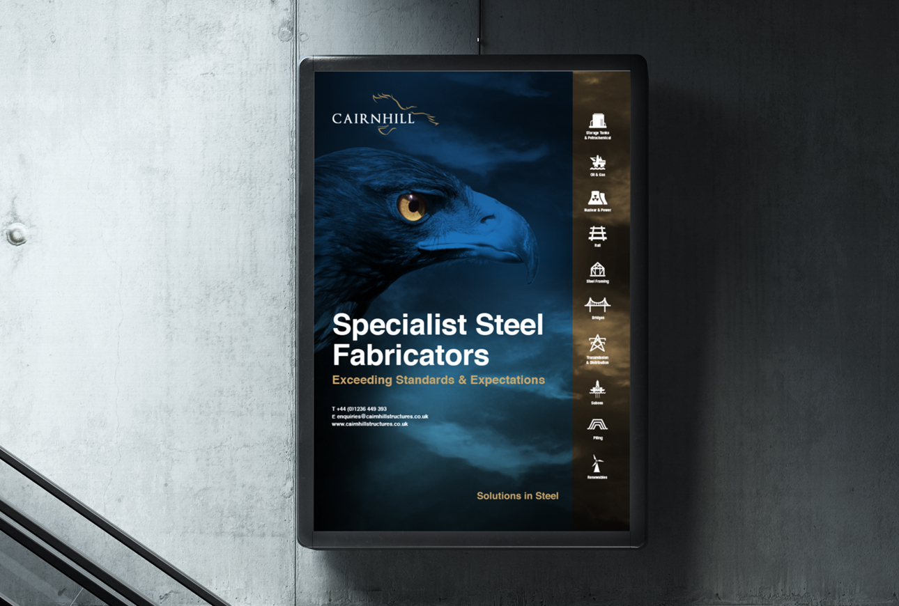 advertisement for Cairnhill Structures