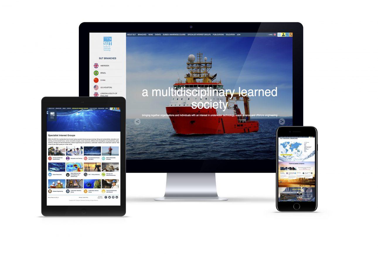 website portfolio: SUT website