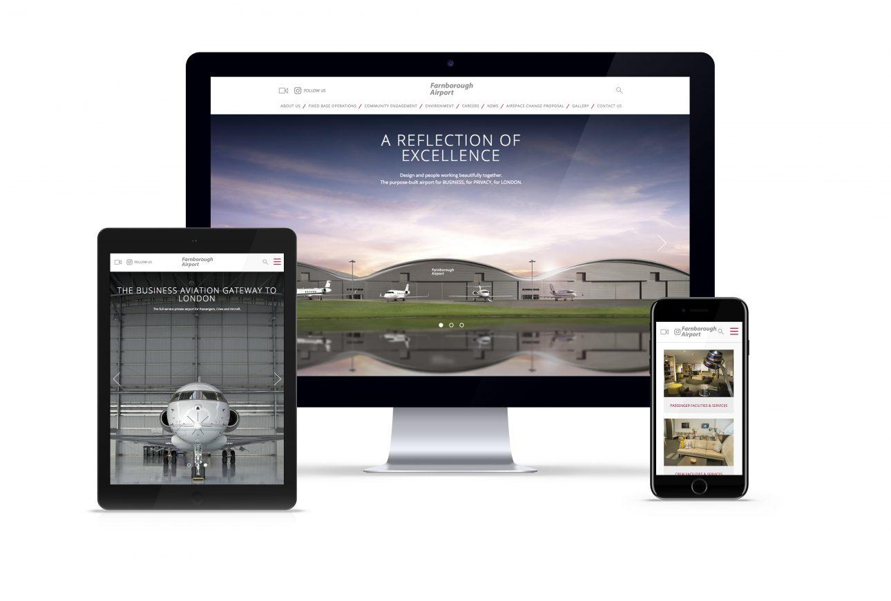 Design Inc website portfolio: