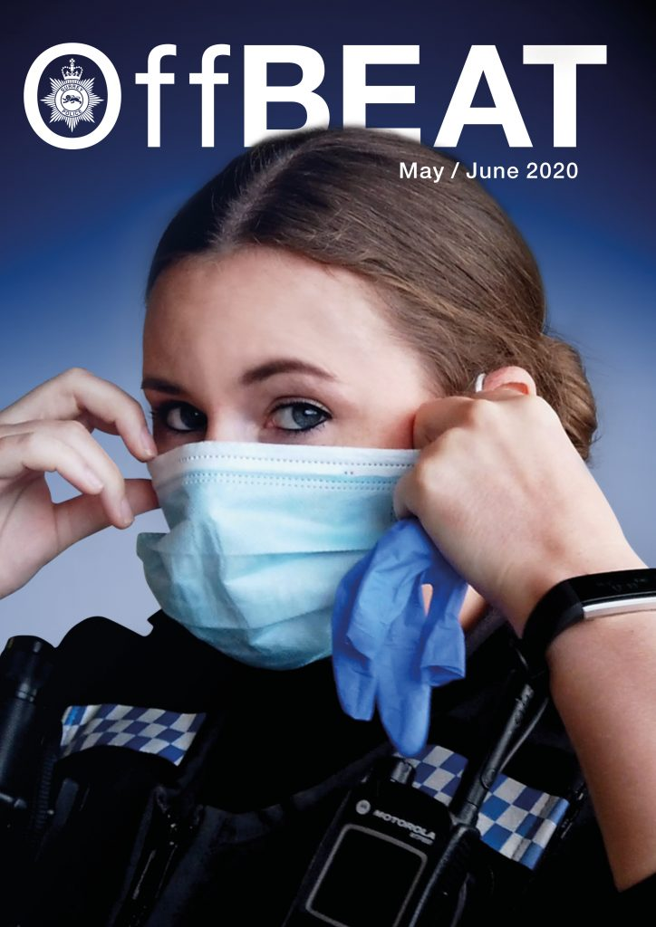 front cover image of Surrey Police's OffBEAT newsletter