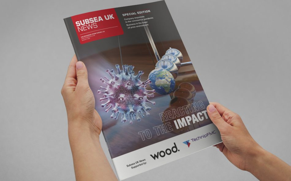 Subsea Uk News front cover design August 2020