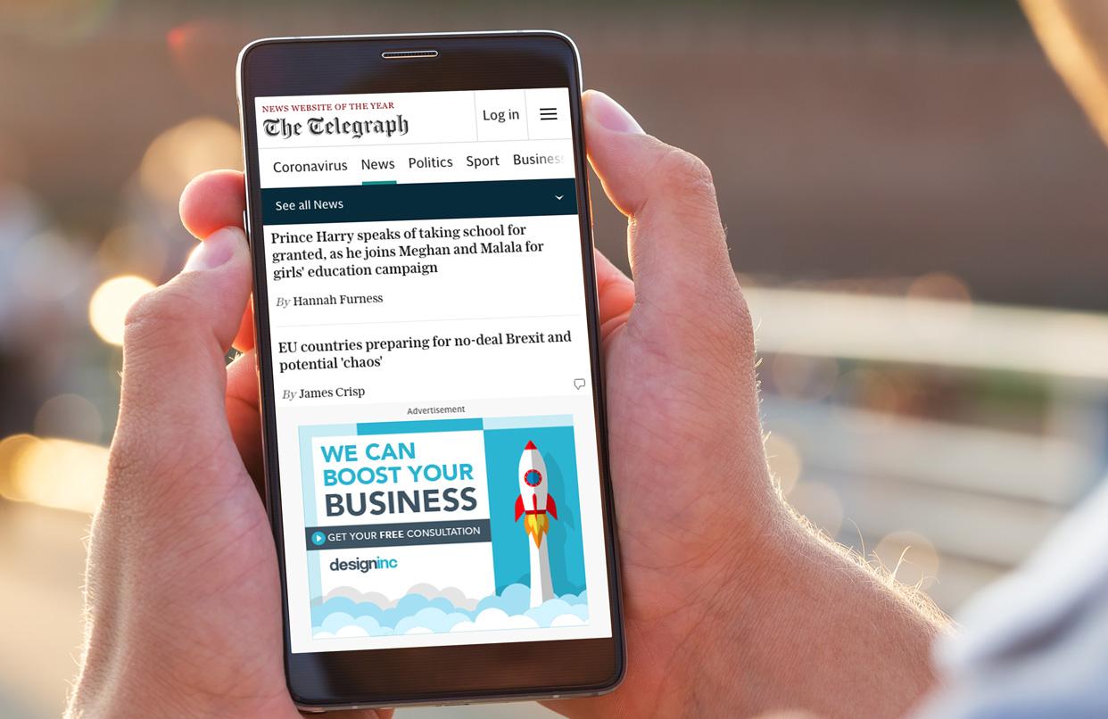 digital marketing: mobile advertising