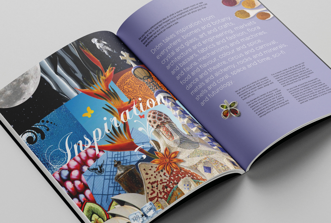Drom brochure catalogue literature