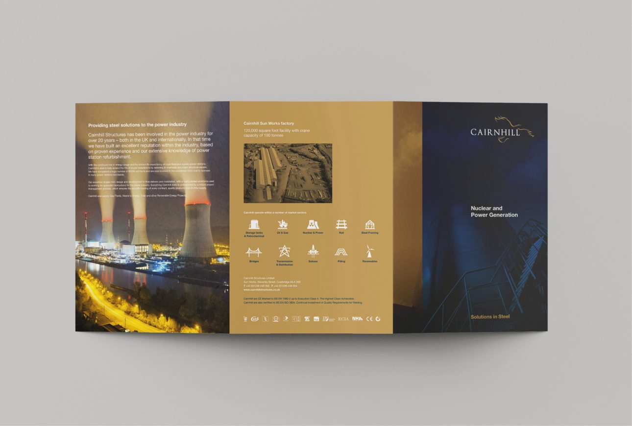 case study brochure for Cairnhill Structures