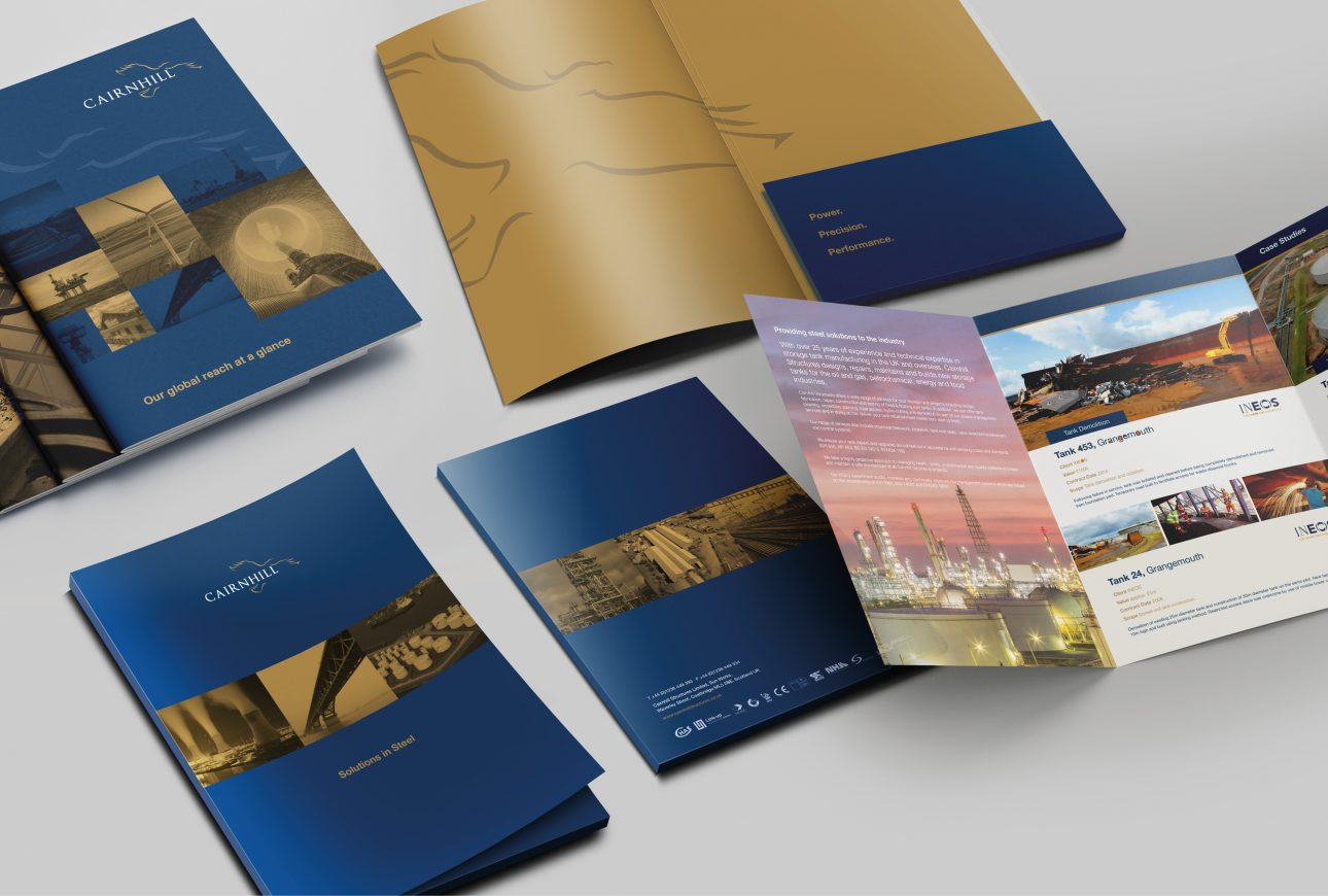 suite of brochures - Cairnhill Structures
