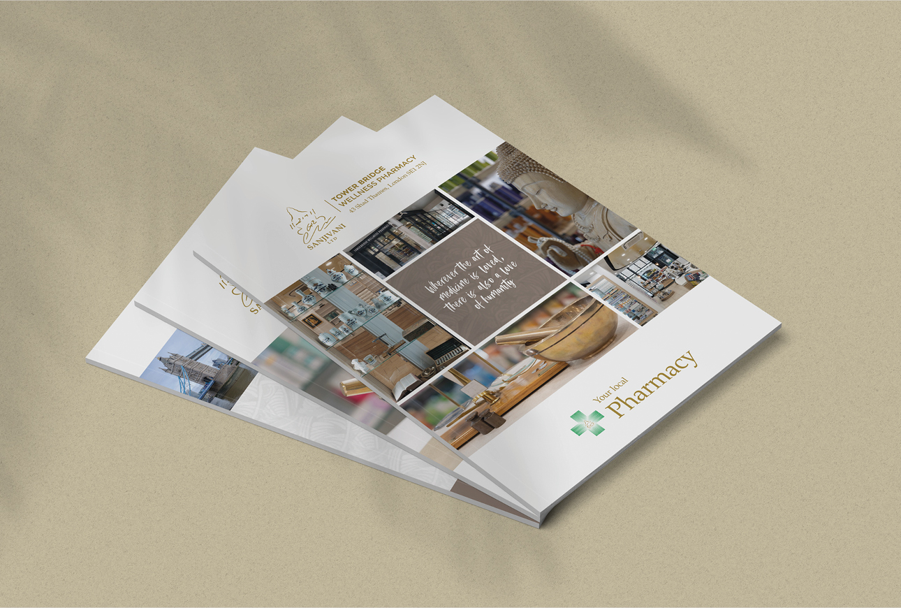 healthcare services brochure Tower Bridge pharmacy